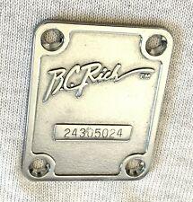 Vtg BC Rich Mockingbird Electric Guitar Original Rich Logo Neck Plate