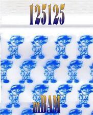 "100 PACK BLUE BOY SMOKIN 125125 Apple Ziplock Baggies 1.25X1.25"" Mini POLYBAGS"