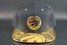 Mitchell & Ness NBA Toronto Raptors Gold Standard Adjustable Snapback Hat Cap DS