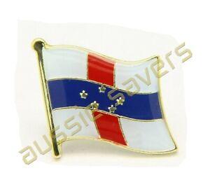 NETHERLANDS ANTILLES FLAG HAT PIN / BADGE / BROOCH - BRAND NEW