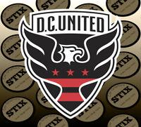 D.C. United Logo MLS Color Die Cut Vinyl Sticker Car Window Hood Bumper Decal