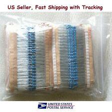 2600 pcs 130 Values 1/4W 1ohm to 3M Resistor Kit Assortment Set - US seller
