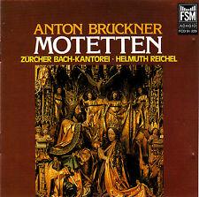 Anton Bruckner Motetten Züricher Bach-Kankorei Helmut Reichel CD