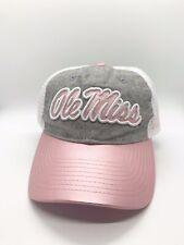 Ole Miss Women's Brand New NCAA Mesh SnapBack Hat Adjustable Size