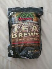 Xtreme Gardening Tea Brews 10g Packs 10/ct roots OMRI mykos azos compost