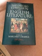 The Oxford Companion to English Literature Fifth Edition 1985 HC DJ Free Shippin