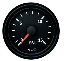 VDO Mechanical Boost Gauge 0-15PSI 150077010