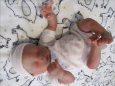 "REBORN BABY DOLL PREEMIE 16"" PREMATURE MEGAN BY ARTIST OF 6yrs DAN SUNBEAMBIES"