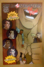 GHOSTBUSTERS GET REAL #4  Subscriber Cover 2015