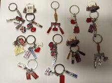 12 pcs London LandMark Souvenir KeyRing 3D souvenirs UK Fast Dispatch