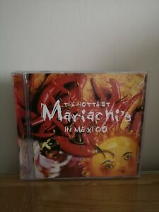 The Hottest Mariachis In Mexico,Various Artists.Like New,Tiny Mark On Disc.
