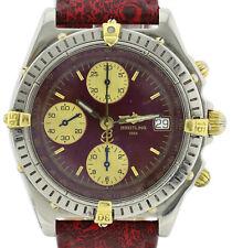 Breitling Chronomat Automatik Herrenuhr Stahl Gold B13050.1 Seltenes Zifferblatt