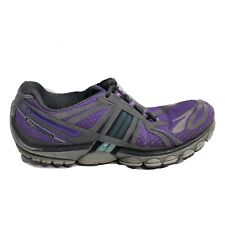 Brooks Pure Cadence 2 Running Shoes Womens Size 8 Purple Gray Black Sneakers