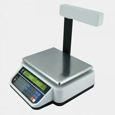 DIGI DS 782 15kg RETAIL WEIGHING SCALE TOWER POLE EASY TO USE BUTCHER DELI SCALE