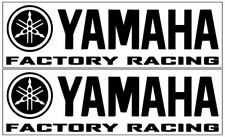 2 Yamaha Factory Racing Decals~MotoX Decals~12 Colors Available~Free Shipping!