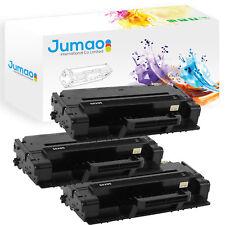 Lot de 3 Toners cartouches type Jumao compatibles pour Samsung ML 3710D, Noir