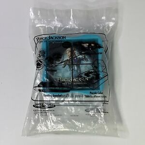 2013 Hardees Carl's Cool Kids Meal Toy Percy Jackson Sea Of Monster Puzzle Cube