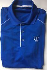 Minnesota Twins TC NIKE GOLF TOUR PERFORMANCE DRI-FIT Mens Blue S/S Polo Shirt M