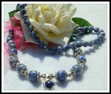 Lapis Lazuli Stone Tibetan Silver Fashion Jewellery