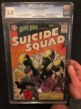 Brave and the Bold 25 1st App Suicide Squad - DC 1959 - CGC 3.0 - Beautiful Key