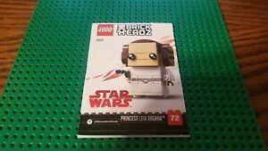 LEGO BrickHeadz Star Wars Princess Leia 41628 - Instruction Manual Only