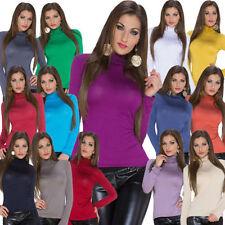Camisas y tops de mujer de manga larga de viscosa/rayón talla 36