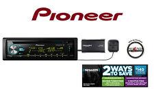 Pioneer DEH-X6800BS CD Receiver w/ Bluetooth SiriusXM SXV300v1 Satellite Radio