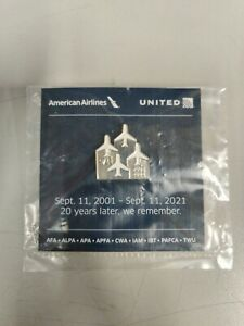 20th ANNIVERSARY AMERICAN AIRLINES 9/11 PIN