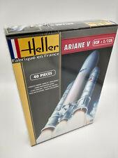 Fusée Ariane V Maquette a monter Heller France neuve echelle 1:125