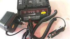 SELTEN! CAMCORDER AKKULADER 12+24V+230V BETRIEB!  NiCD + NimH v15001