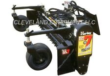 "NEW 84"" HARLEY POWER BOX RAKE SOIL CONDITIONER - Bobcat Cat Skid Steer Loader 7'"