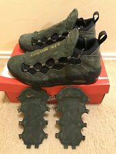 b37068abcf8 Nike Air More Money QS US Dollar Mens Sz 10.5 Sequoia Metallic Black AJ7383  300