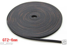 3d Printer GT2 open Timing Belt 6mm width ( 2 meter )