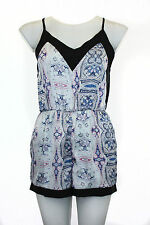 Women's Paisley Playsuits