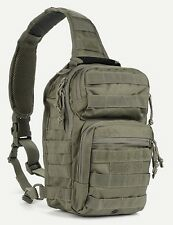 Military Tactical Bug Out Sling Bag Backpack Ambidextrous Carry Conceal OD