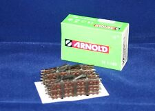 Arnold Voie HN 8008 Rails Courbés 10 Piècepro Pack Voie N