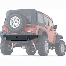 Warn Rock Crawler Rear Bumper without Tire Carrier for 07-15 Jeep Wrangler JK