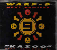 Warp 9 Next Project-Kazoo cd maxi single