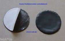 10 runde Walzblei Blei-Scheiben 4,0 cm a 15 Gr. selbstklebend Basteln Modellbau