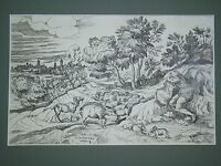 Original engraving of Valentin Lefebvre (1642-1682)