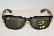RAYBAN  SUNGLASSES   NEW WAYFARER 2132  BLACK 901  58MM EYE  FREE SHIPPING
