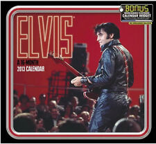Elvis Presley ™ 2013 Wall Calendar - In Concert - New Sealed