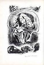 SOUPAULT, L'arme secrète. 6 dessins et une lithographie originale d'André Mas