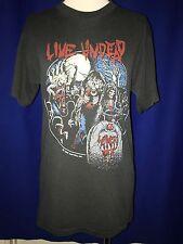 vintage 1985 Slayer Live Undead Tour Concert Tshirt shirt Boutwell dates on back