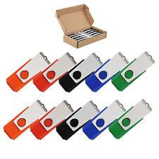 50Stück 16GB USB-Stick Memory Speicherstick Schwenkbarer USB-Flash-Laufwerk Dish