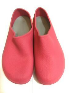 FLORABEST Made Italy Pink Rubber Women's Clogs Garden Shoes Size 8
