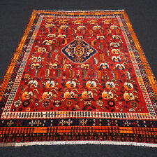 Antiker Orient Teppich 188 x 132 cm Dunkelrot Perserteppich Antique Carpet Rug