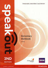 Pearson SPEAKOUT 2nd EDITION Elementary Workbook with Answer Key @NEW@