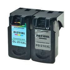 1PK Black 210 XL + 1PK Color 211 XL FOR Canon Ink PIXMA MP230 MP240 MP250 MP270