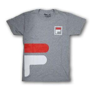 FILA Men's Gray Short Sleeve T-shirt New With Tags
